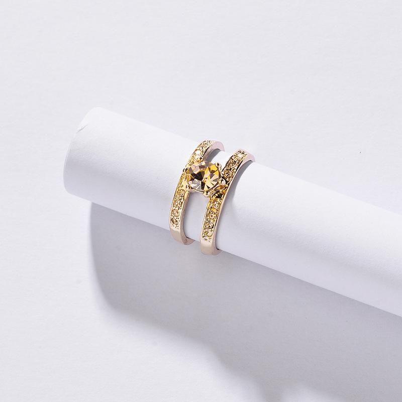 Womens Geometric Agate Rings NHLU128041