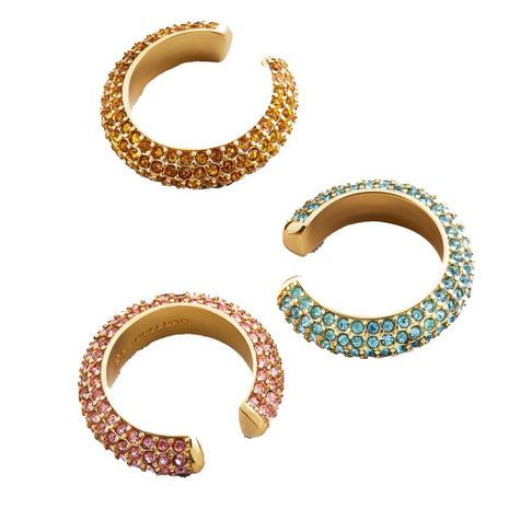 Fashion color zircon alloy earrings NHLL128047's discount tags