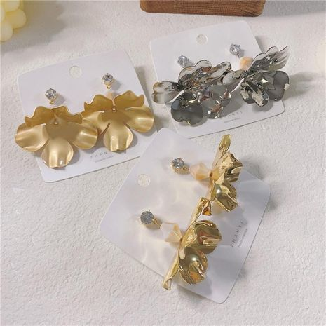 Paint flowers, fashion, cool, wild earrings NHYQ128080's discount tags