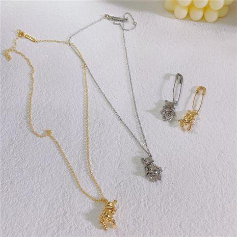 Womens Animal / Zodiac Plating Alloy Earrings NHYQ128100's discount tags