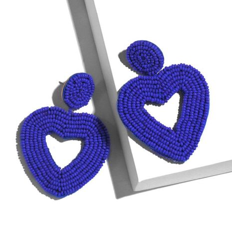 Womens Heart Shaped Beadss Other Earrings NHAS128281's discount tags