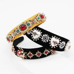 Fashion bee beetle geometric dance headband NHWJ128448's discount tags