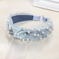 NHOU87282-Blue-pearl-headband