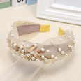 NHOU87284-Khaki-pearl-headband