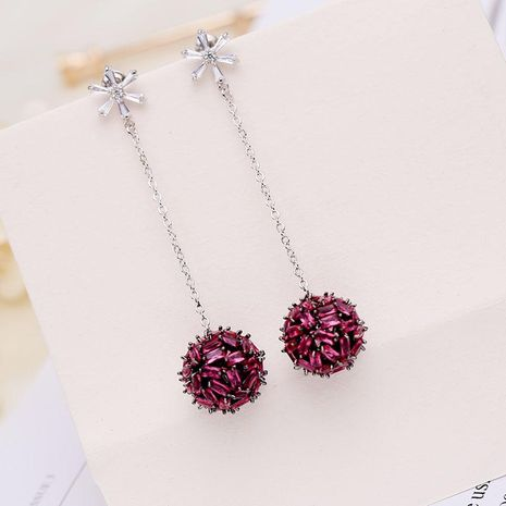 Fashion hollow christmas ball stud earrings NHDO129007's discount tags