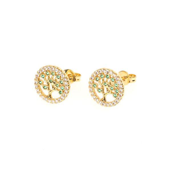 Womens Geometric Rhinestone Boundary Earrings NHPY129106
