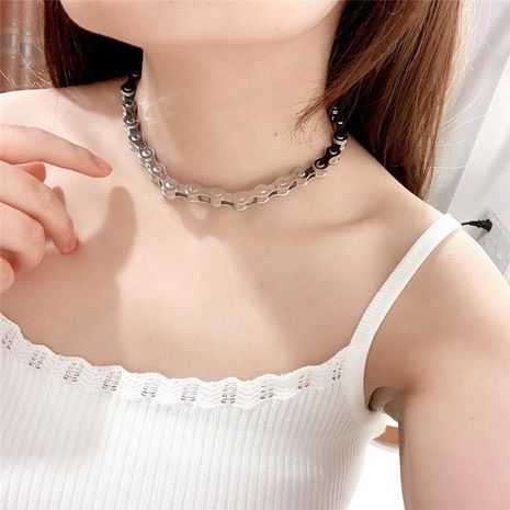 Cool personality, unique design chain, adjustable clavicle chain NHYQ129175's discount tags