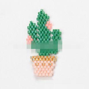 Pulsera moldeada de cactus de moda. NHGW129186's discount tags