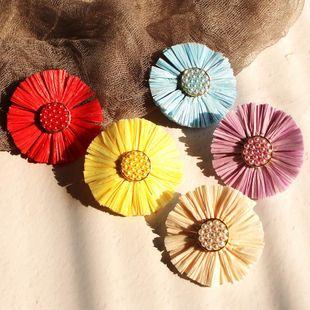 Aleación geométrica de las mujeres  Perlas de imitación Aretes Lafite NHMD129219's discount tags