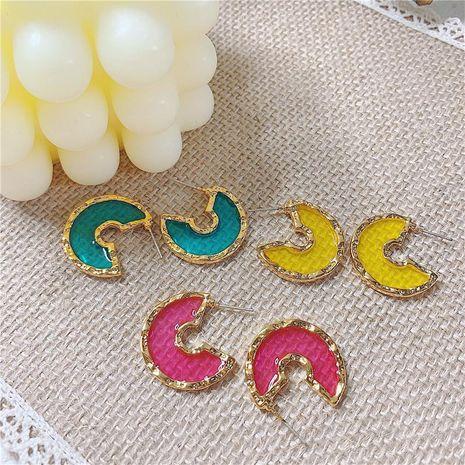 Womens Geometric Alloy Earrings NHYQ129232's discount tags