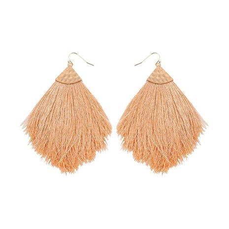 Womens Sector Alloy Tassel Earrings NHLL129270's discount tags
