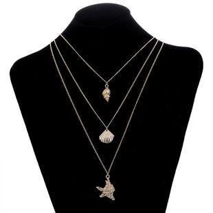 Collares de aleación geométrica para mujer  NHSD129289's discount tags