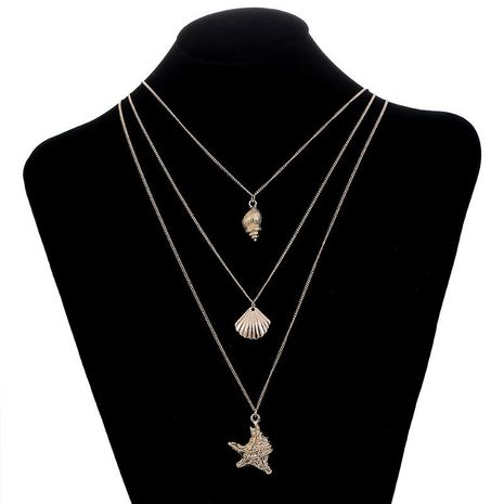 Womens geometric plating alloy Necklaces NHSD129289's discount tags