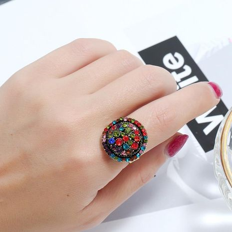 Fashion wild popular personality creative plating ring NHKQ129292's discount tags
