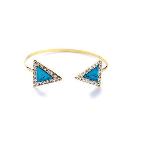 Explosive luxury inlaid natural stone ladies bracelet NHQD129487's discount tags