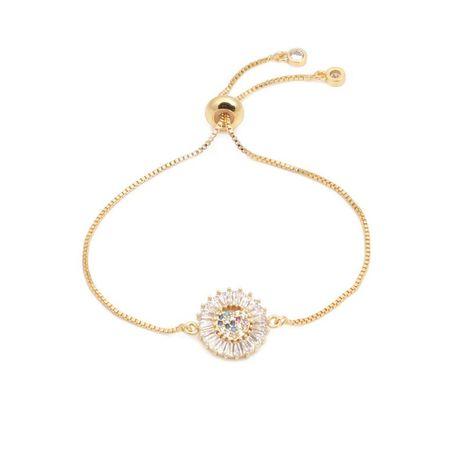 Luxury micro-inlaid zircon love pull bracelet NHYL129514's discount tags