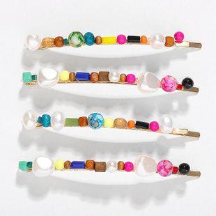Exaggerated Beads Headwear Women's Hair Card Set NHJQ129526's discount tags