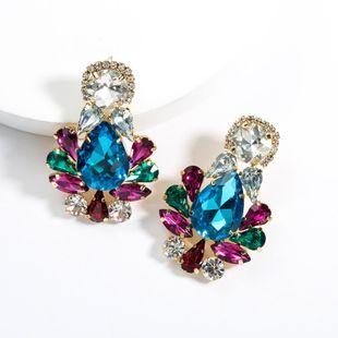 Womens Drop Shaped Acrylic Earrings NHJE129545's discount tags