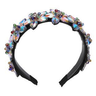Womens U-shaped Rhinestone Hair Band & Headbands NHJQ129553's discount tags