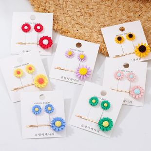 Womens Flower Plating Alloy Hair Accessories NHNZ129558's discount tags