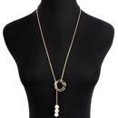 Womens electroplated aluminum Necklaces NHCT129444