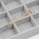 Stylish luxury color zircon adjustable insect bracelet NHYL129532