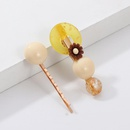 Small fresh resin flower side clip combination hair accessory set NHNZ129551