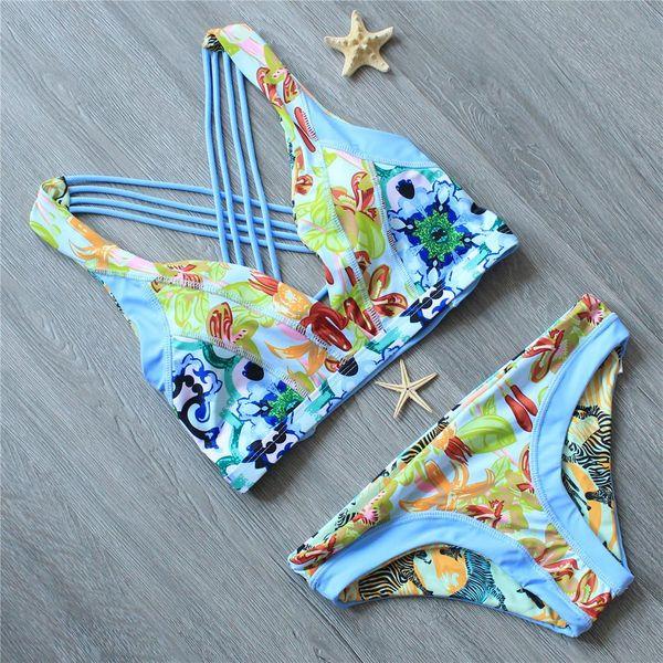Fashion double-sided bikini NHJF129672