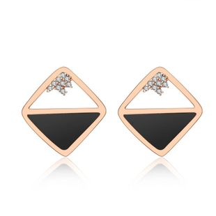 Womens Geometric Plating Alloy Red Apple Earrings NHLJ129909's discount tags
