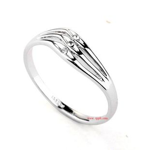 Temperament simple fashion rhinestone ring NHLJ130015's discount tags