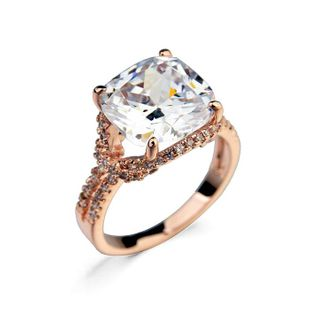Retro atmosphere micro inlaid zircon ring NHLJ130039's discount tags