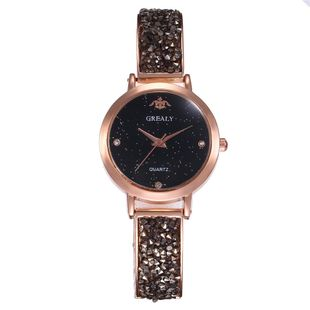 Gypsophila Simple Scale Fashion Bracelet Bracelet Quartz Wrist Watch NHHK130090's discount tags