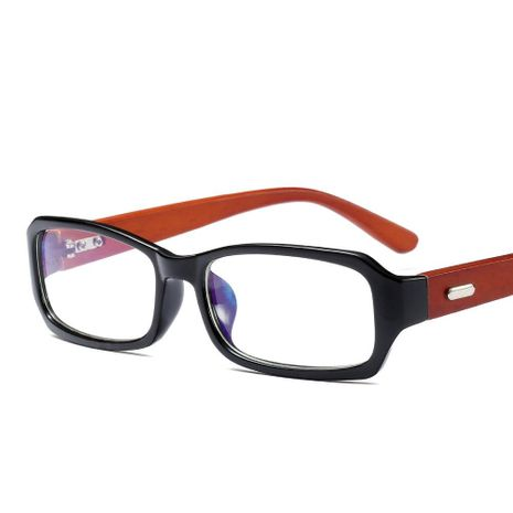 Retro trend rivet frame bamboo wood glasses NHFY130147's discount tags