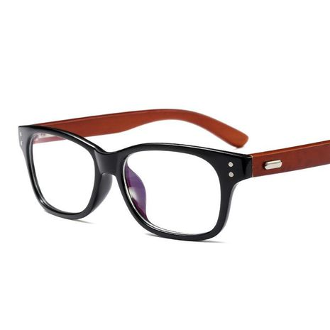 Retro trend bamboo wood sunglasses NHFY130154's discount tags