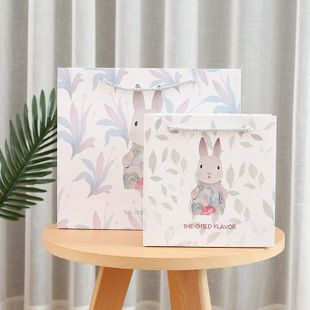 Creative small fresh rabbit tote bag NHHE130216's discount tags
