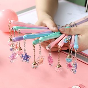 Cute creative girl heart-sex pen couple little fairy pendant NHHE130253's discount tags