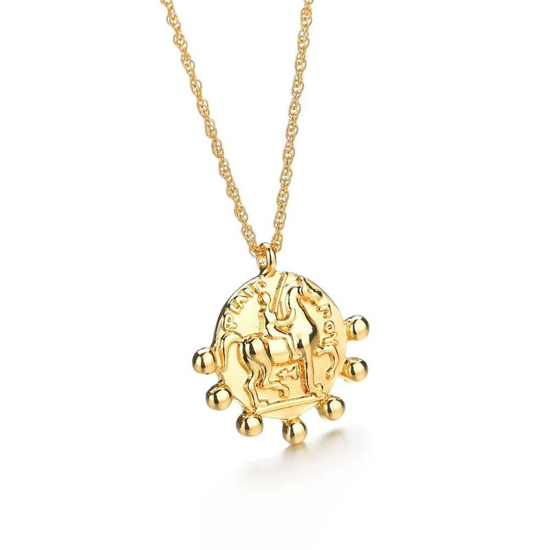Womens geometric plating alloy Necklaces NHBQ125253