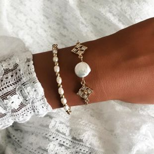 Womens Beizhu Alloy Bracelets & Bangles NHNZ125305's discount tags