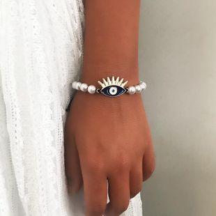 Womens Eye Alloy  beads Bracelets & Bangles NHNZ125322's discount tags