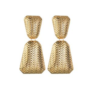 Womens Geometry Electroplating Alloy Earrings NHBQ125349's discount tags