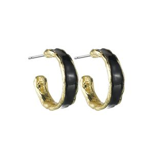 Womens Alphabet / Number / Text Drop Oil Alloy Earrings NHBQ125379's discount tags