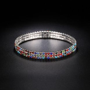 Unisex Geometric Imitated crystal Rhinestone ankle bracelet NHIM125397's discount tags