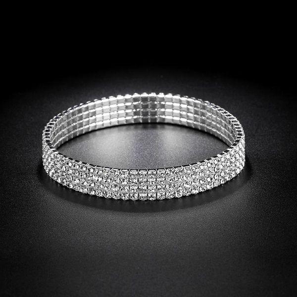 Unisex Geometric Imitated crystal ankle bracelet NHIM125405