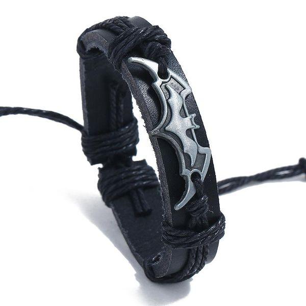 Unisex geometric leather Bracelets & Bangles NHPK125410