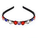 Womens Electroplated Alloy Hair Accessories NHNT125261