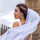 Womens Floral Plating Alloy Hair Accessories NHNT125270