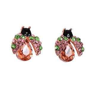 Womens Insect Rhinestone Alloy Earrings NHQD125412's discount tags