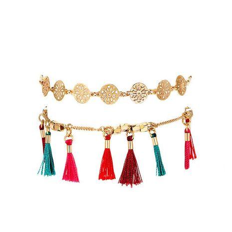Bracelet cheville en alliage plaqué gland pour femme NHGY125460's discount tags