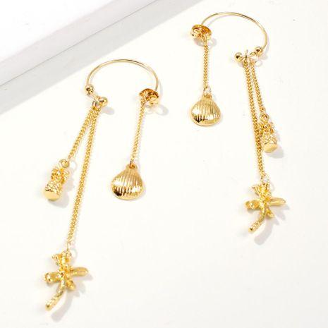 Womens Geometric Alloy Imitation Rhinestone Earrings NHMD125510's discount tags