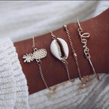 Womens Geometric Alloy  Bracelets & Bangles NHMD125522's discount tags